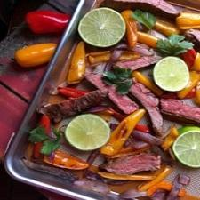Sheet Pan Beef Fajitas – Whole30 Compliant and Low Carb
