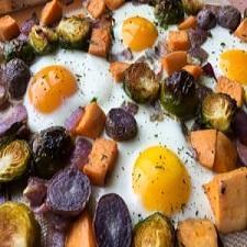 Sweet Potato Breakfast Hash Sheet Pan Breakfast – Whole30 Compliant
