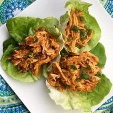 Buffalo Chicken Lettuce Wraps – Whole30 Compliant