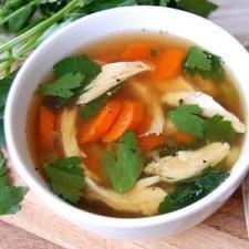 Paleo Chicken Soup From Scratch | Paleo Grain Free Gluten Free