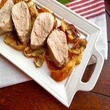 Apple & Fennel Roasted Pork Tenderloin – Whole30 Compliant