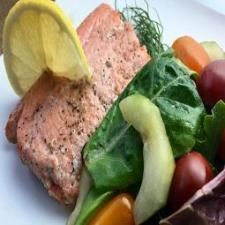 Lemon and Dill Salmon with Herb Salad – Whole30 Recipe