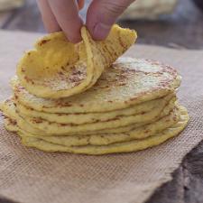 Cauliflower Tortillas | Gluten Free and Paleo