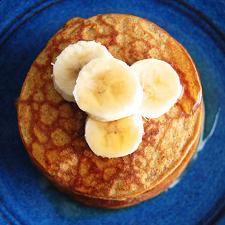 Healthy Pumpkin Pancakes | Gluten Free